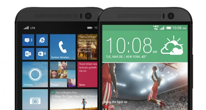 HTC One (M8) versus HTC One (M8) for Windows spec showdown