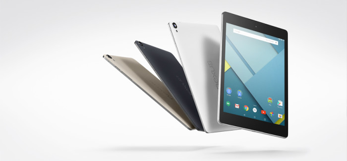 Google unveils the Nexus 9 tablet from HTC