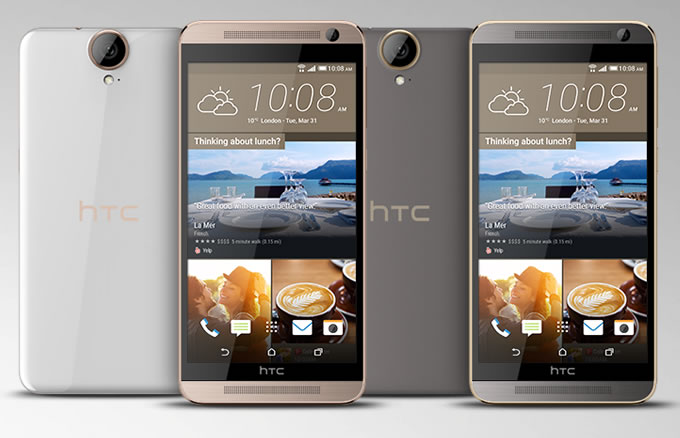 HTC One E9+ revealed without much fanfare