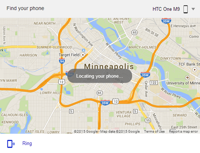 Lost phone? Track it down with a Google search