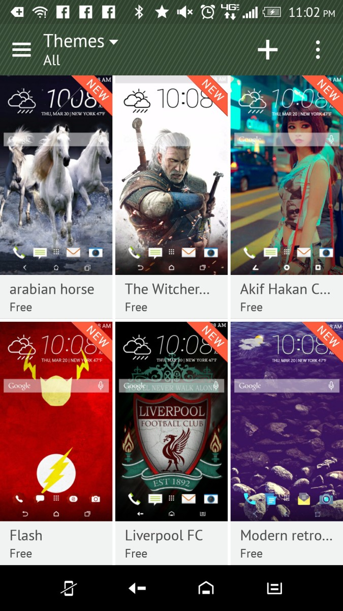 HTC Theme all themes