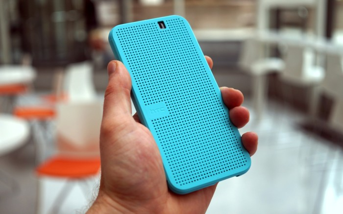 HTC One M9 Dot View 2 (Ice) case review