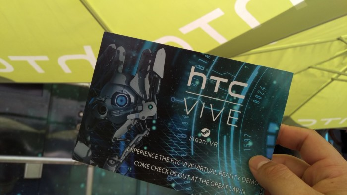 Hands on with the HTC Vive