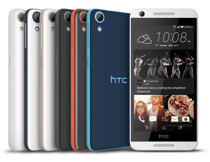 Four new HTC Desire phones heading to nine US service providers