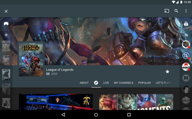 Android app of the week: YouTube Gaming