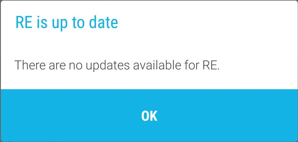 HTC Re no updates