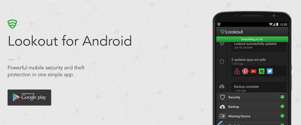 android app of the week lookout htc source