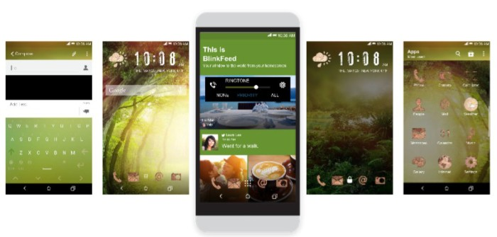 HTC theme of the week: Rumor of hope or that time I got lost in the woods