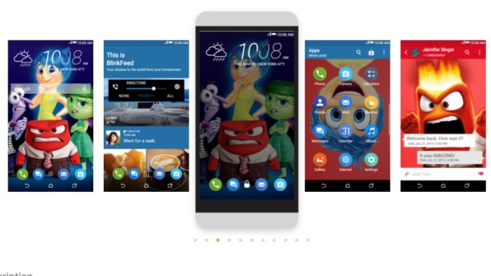 HTC Theme of the week: Inside Out