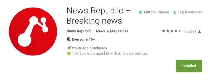 News Republic App 1