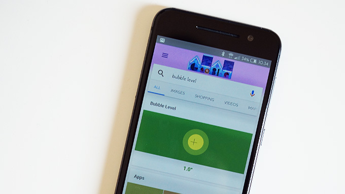 Bubble Level feature added to Google Search on Android