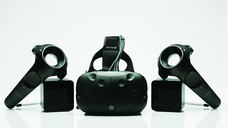 HTC Vive Pre Headset Controllers Lighthouses