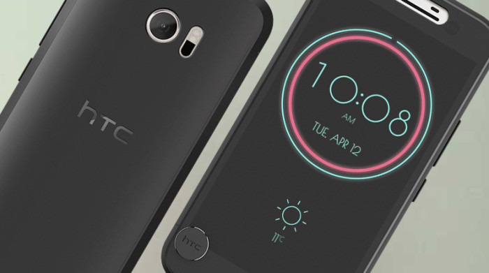 HTC 10 Ice View Case takes the smart case to a whole new level