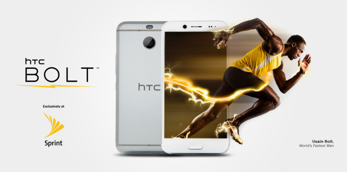 Sprint's HTC Bolt unveiled with lightning-fast LTE Plus support