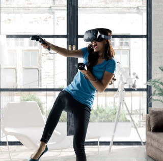 Buy the HTC Vive from Microsoft for $699.99, get a $100 gift card and 2 games
