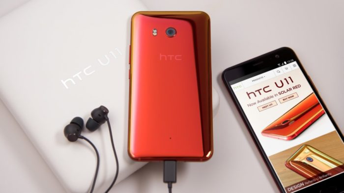 HTC U11 in Solar Red is now shipping in the US – pick it up now for $599
