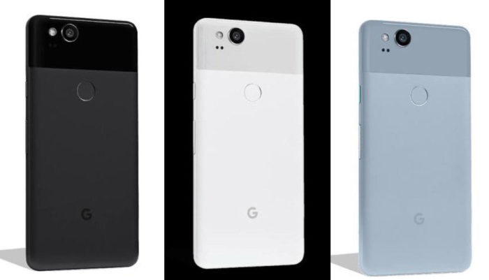 Pixel 2 pricing and official press renders leak