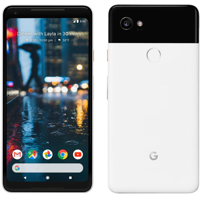 Pixel 2 and Pixel 2 XL front and back designs revealed