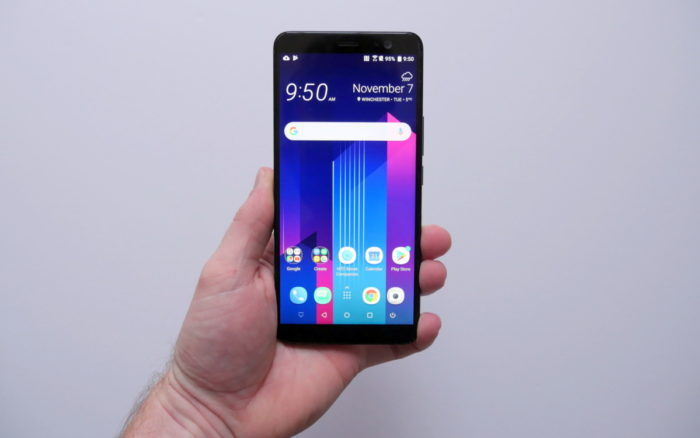 We have the HTC U11+: what questions do you have?
