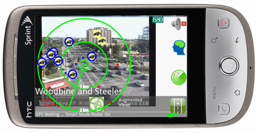 augmented reality camera app for android