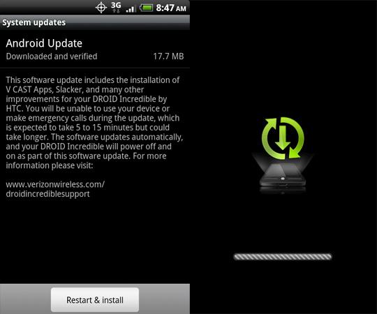 VCAST Apps – HTC Source