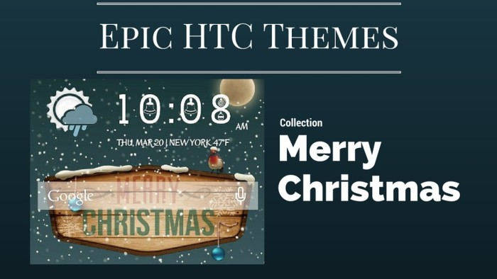 epic htc themes to get you in the christmas spirit htc source