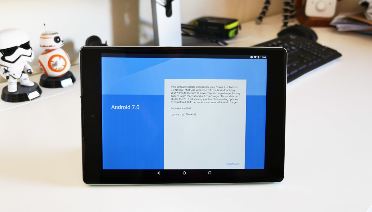 Google releases Android Nougat for the Nexus 9 and other