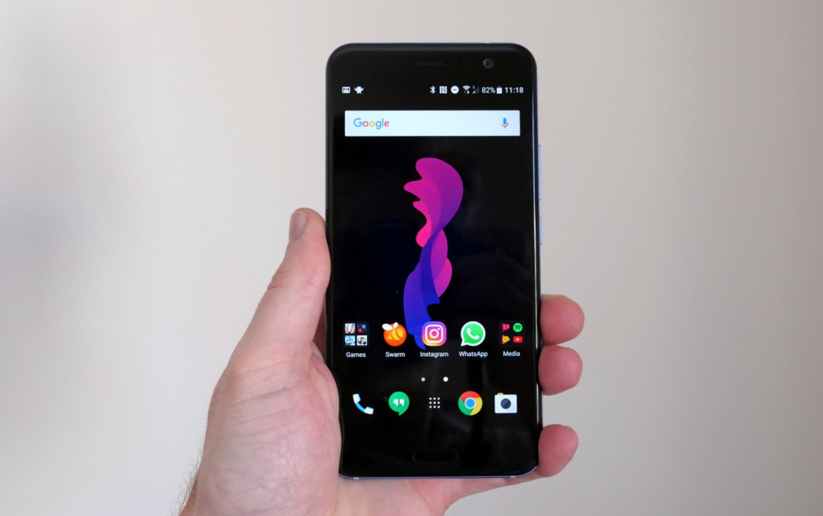 Image result for HTC U11 review: A flagship device that's well worth the money